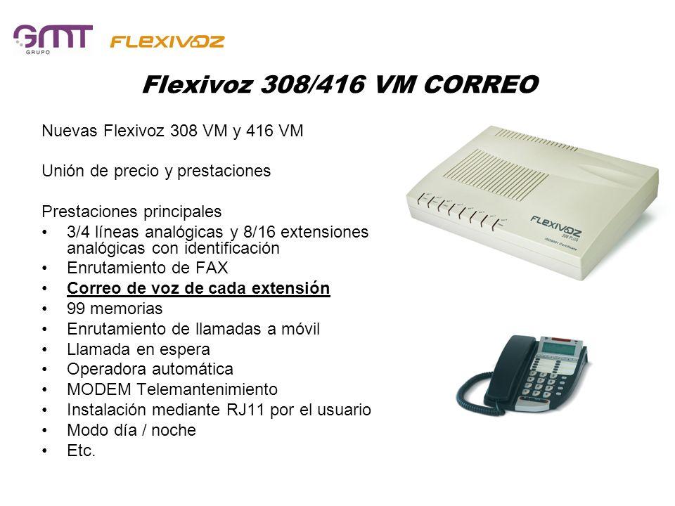 Flexivoz 308/416 VM CORREO Nuevas Flexivoz 308 VM y 416 VM