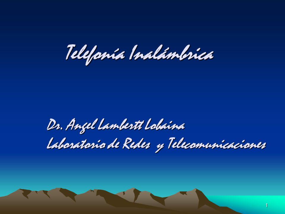 Telefonía Inalámbrica
