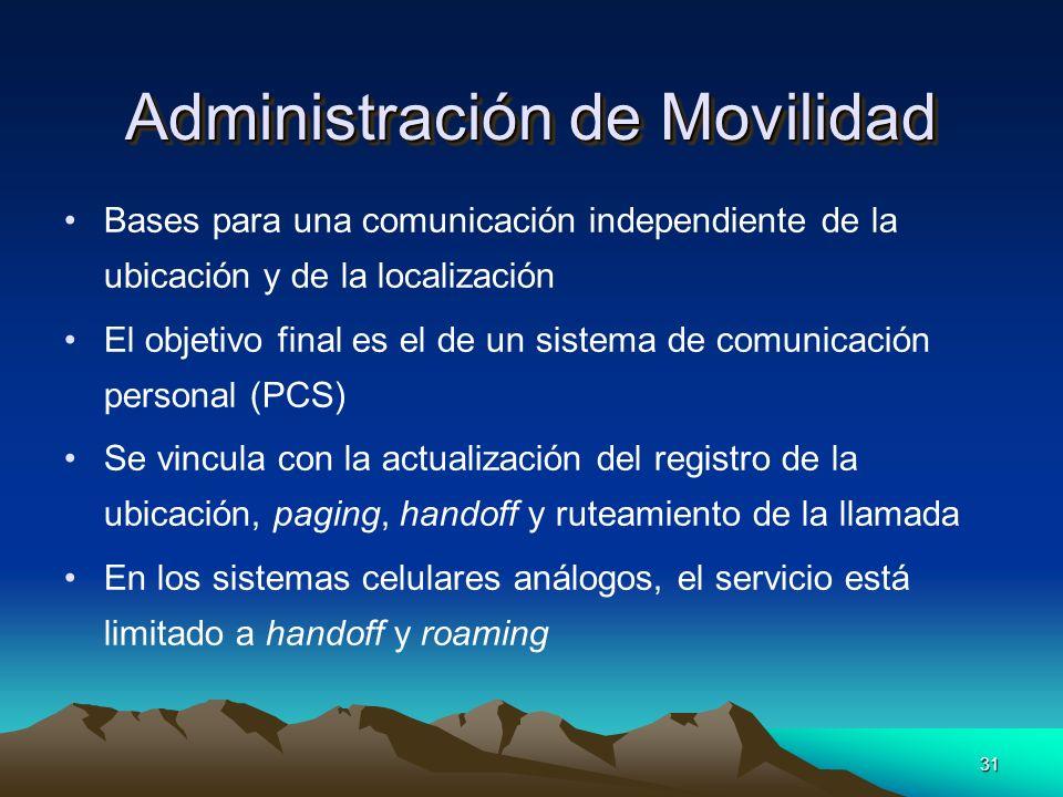 Administración de Movilidad