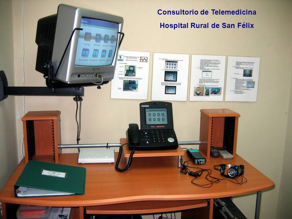 Consultorio de Telemedicina Hospital Rural de San Félix
