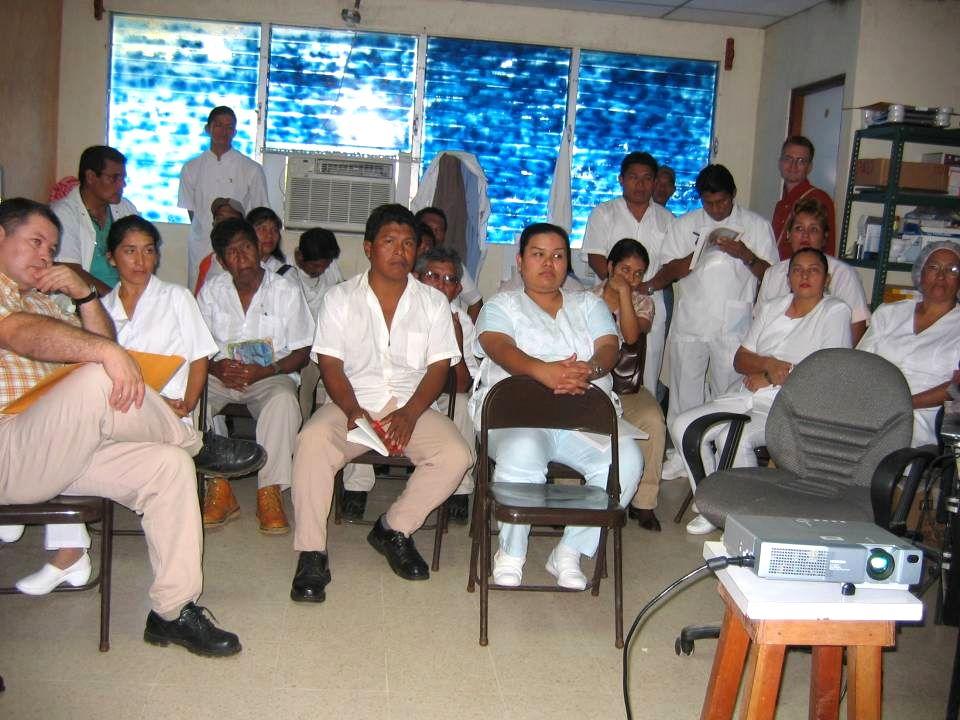 Importancia de entrenamiento, no sólo del personal encargado del uso del sistema sino al administrativo y gerencial local y regional.