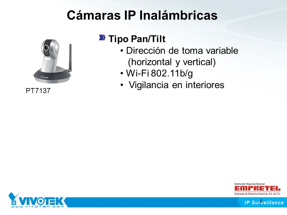 Cámaras IP Inalámbricas