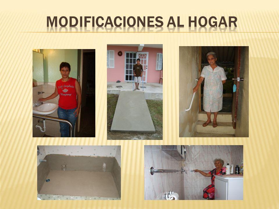 MODIFICACIONES al hogar
