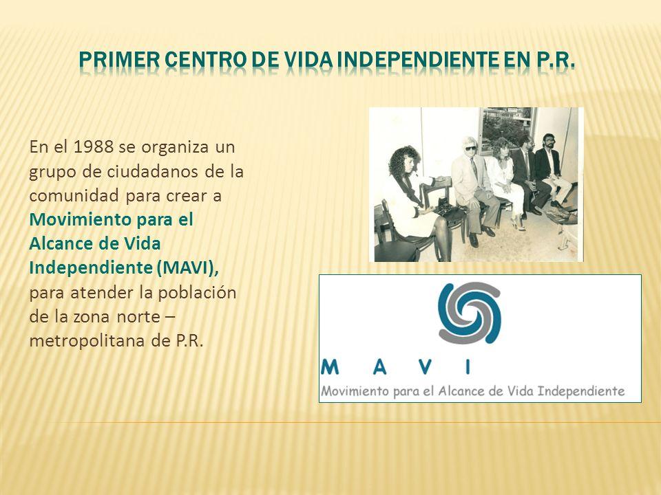 Primer Centro de Vida Independiente en P.R.
