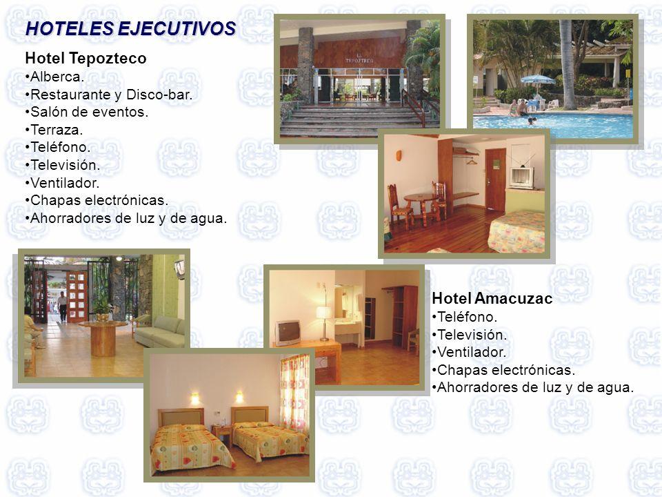 HOTELES EJECUTIVOS Hotel Tepozteco Hotel Amacuzac Alberca.