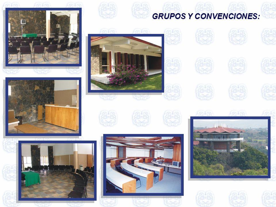 GRUPOS Y CONVENCIONES: