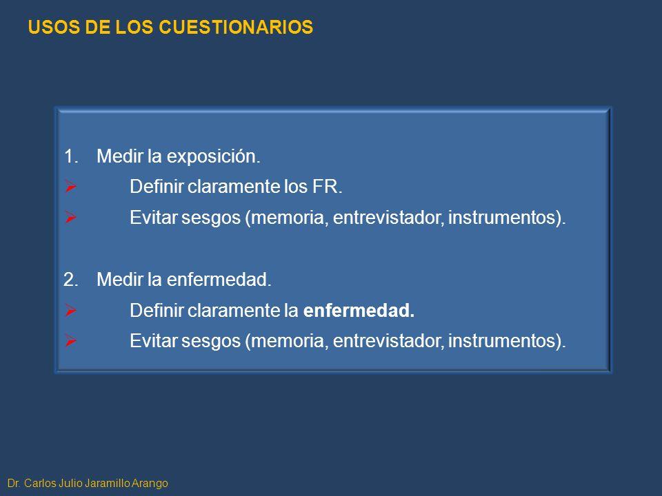 USOS DE LOS CUESTIONARIOS