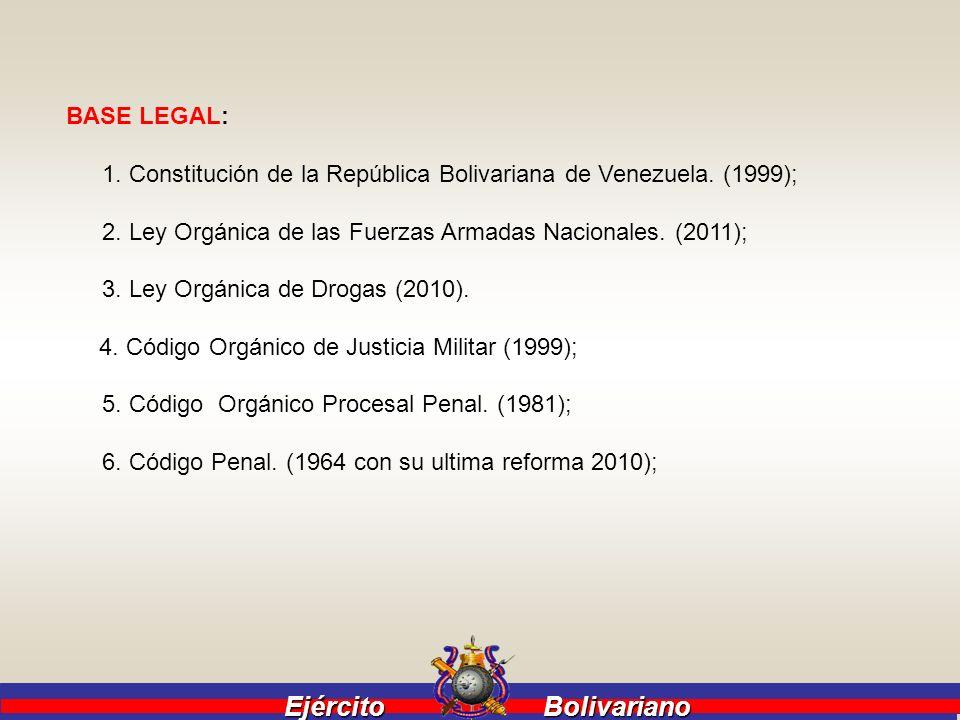 BASE LEGAL: 1. Constitución de la República Bolivariana de Venezuela