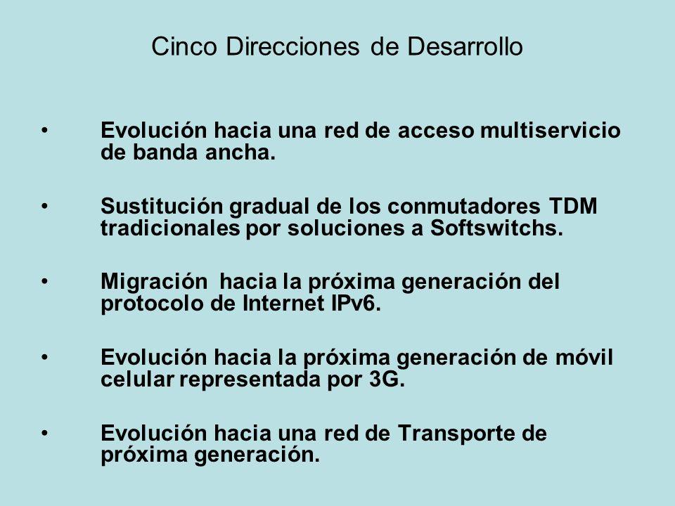 Cinco Direcciones de Desarrollo