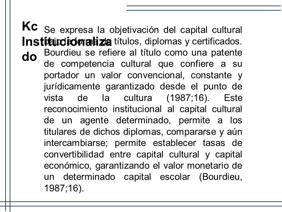 Kc Institucionalizado