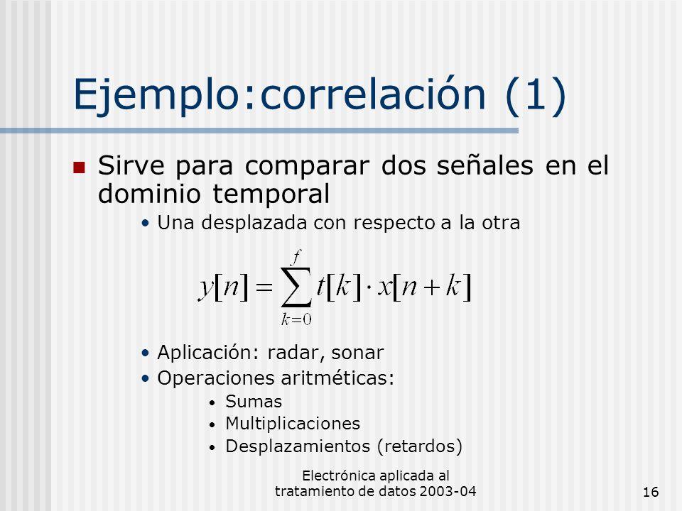 Ejemplo:correlación (1)