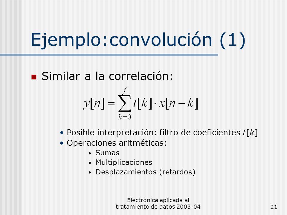 Ejemplo:convolución (1)