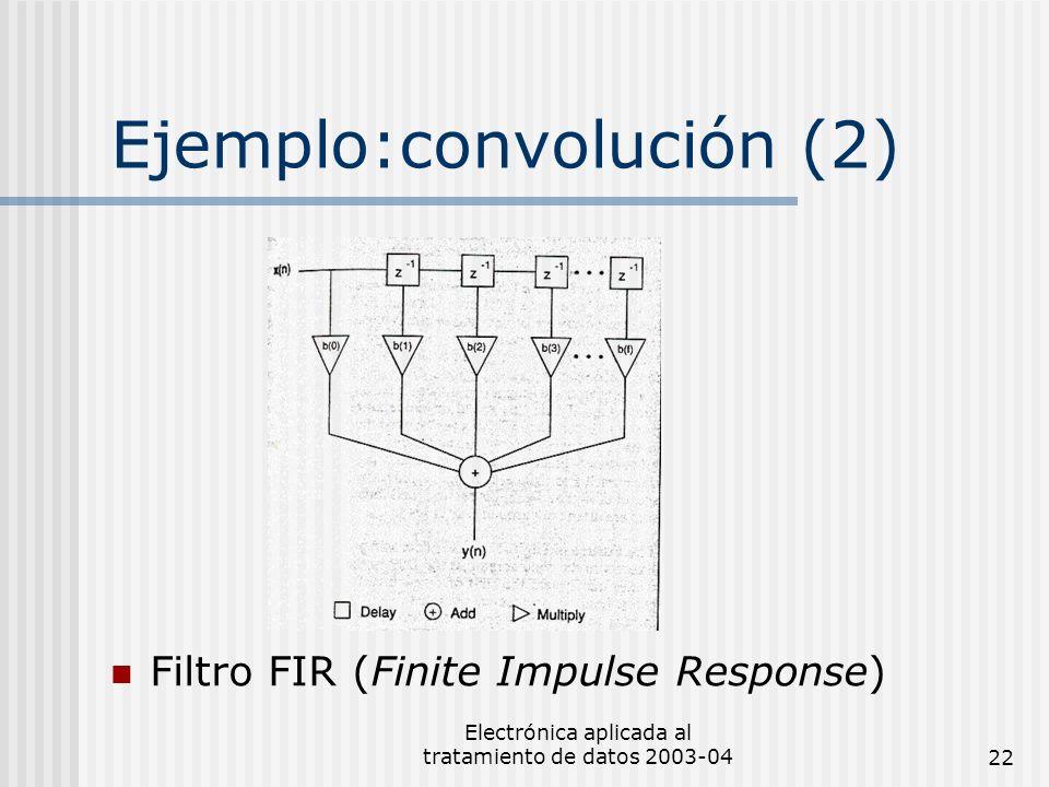 Ejemplo:convolución (2)