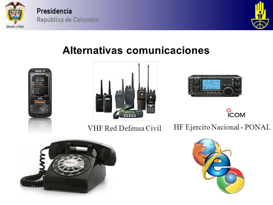 Alternativas comunicaciones
