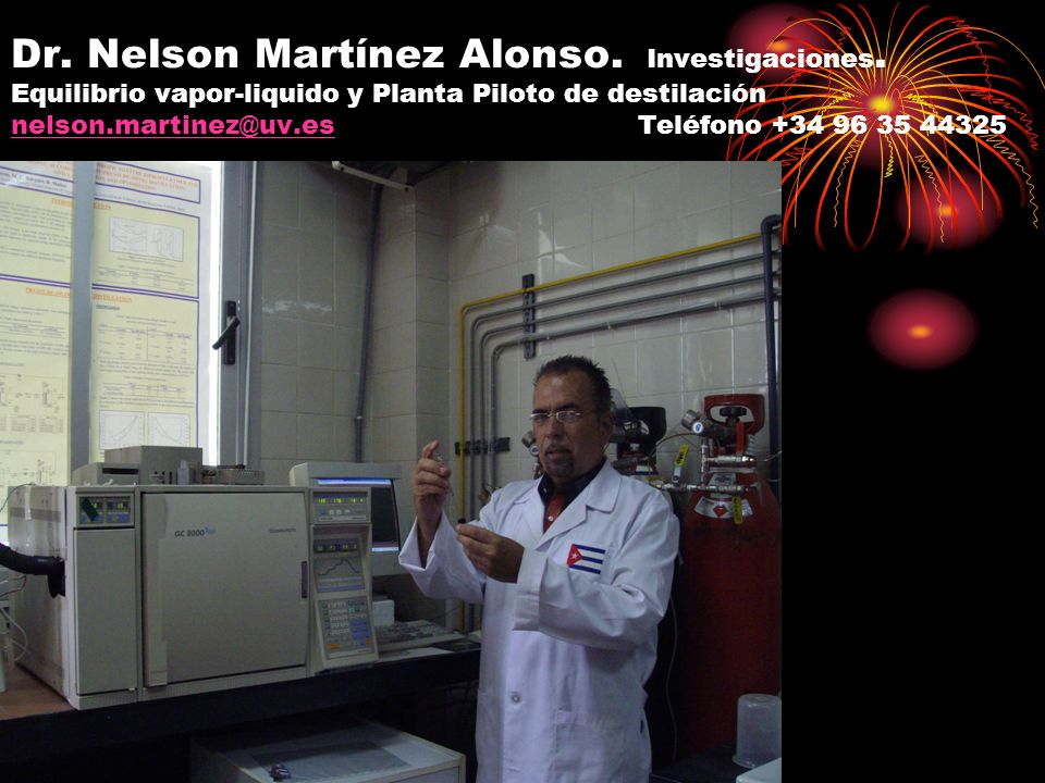Dr. Nelson Martínez Alonso. Investigaciones