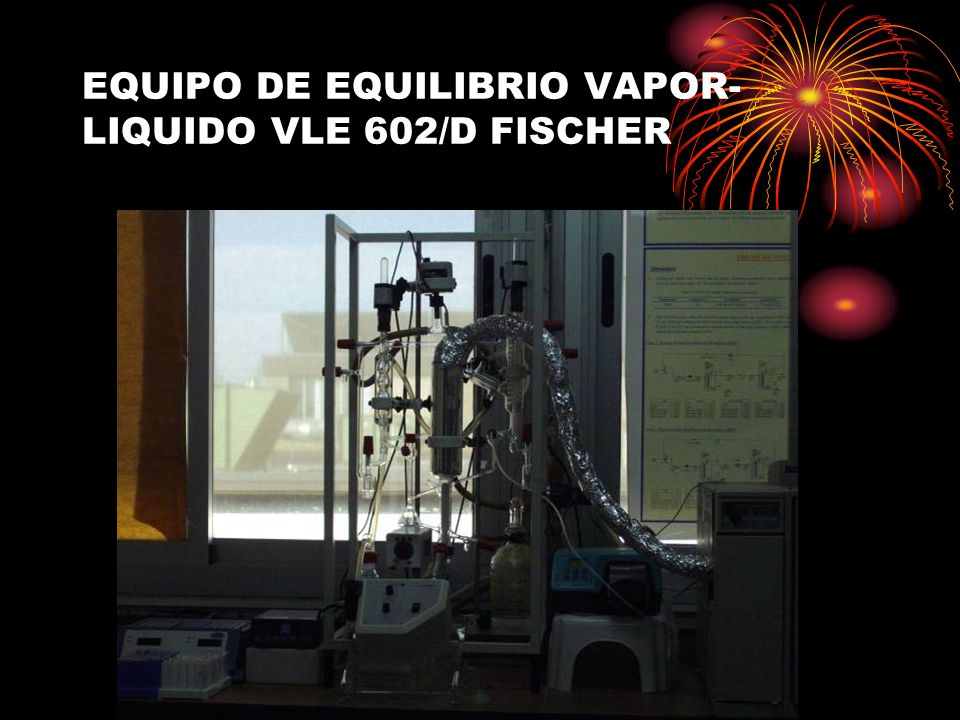 EQUIPO DE EQUILIBRIO VAPOR-LIQUIDO VLE 602/D FISCHER