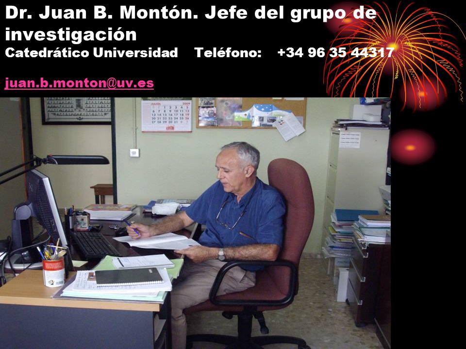 Dr. Juan B. Montón.