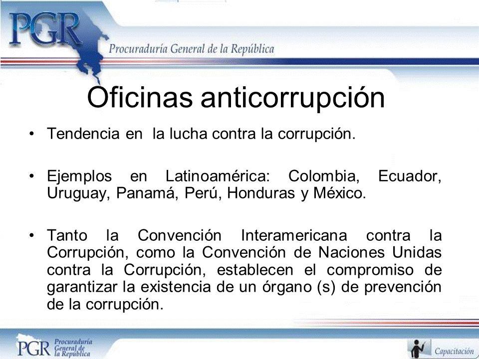 Oficinas anticorrupción