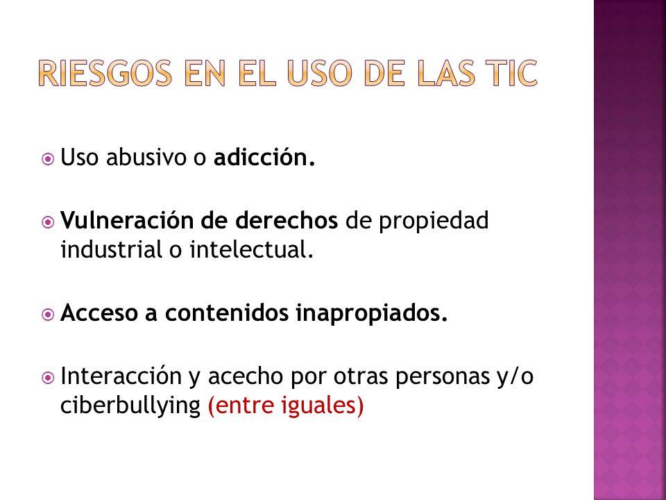 riesgos en el uso de las TIC