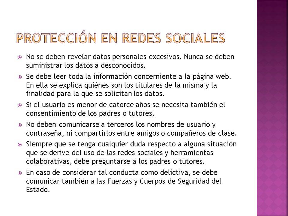 PROTECCIÓN EN REDES SOCIALES