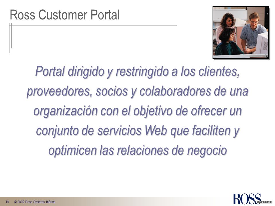 Ross Customer Portal