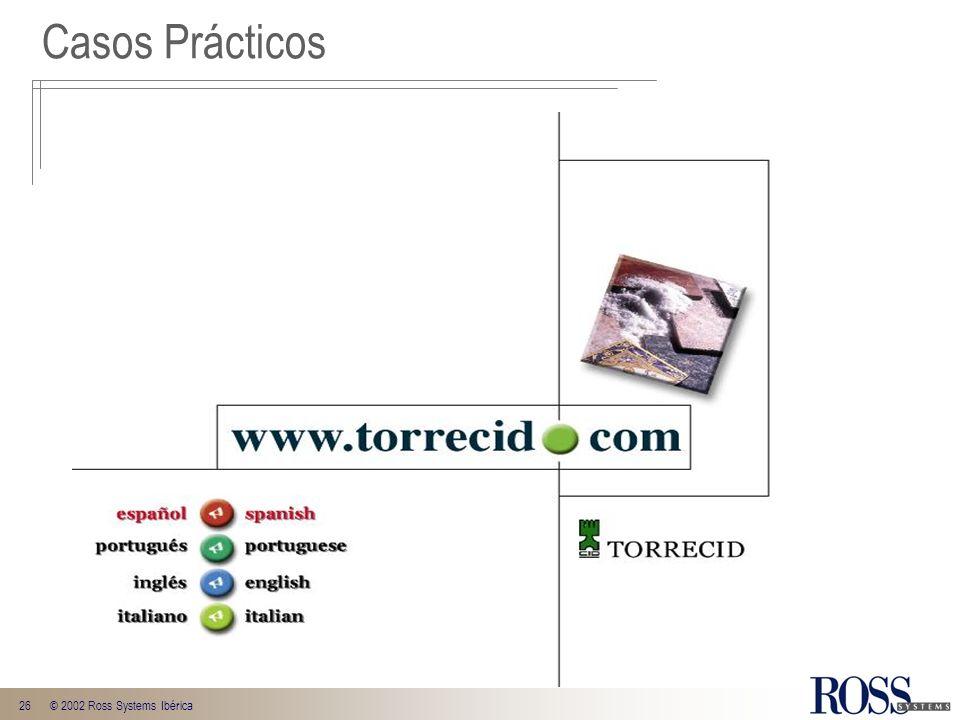 Casos Prácticos © 2002 Ross Systems Ibérica