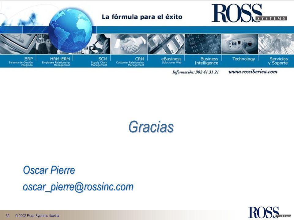 Gracias Oscar Pierre oscar_pierre@rossinc.com