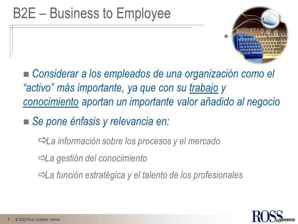 B2E – Business to Employee