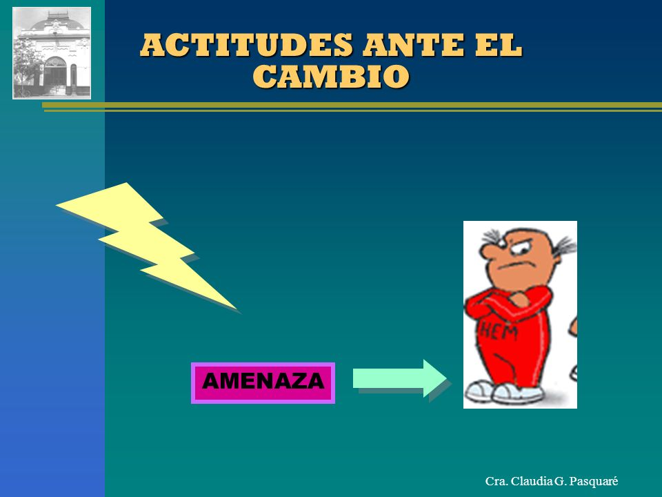 ACTITUDES ANTE EL CAMBIO