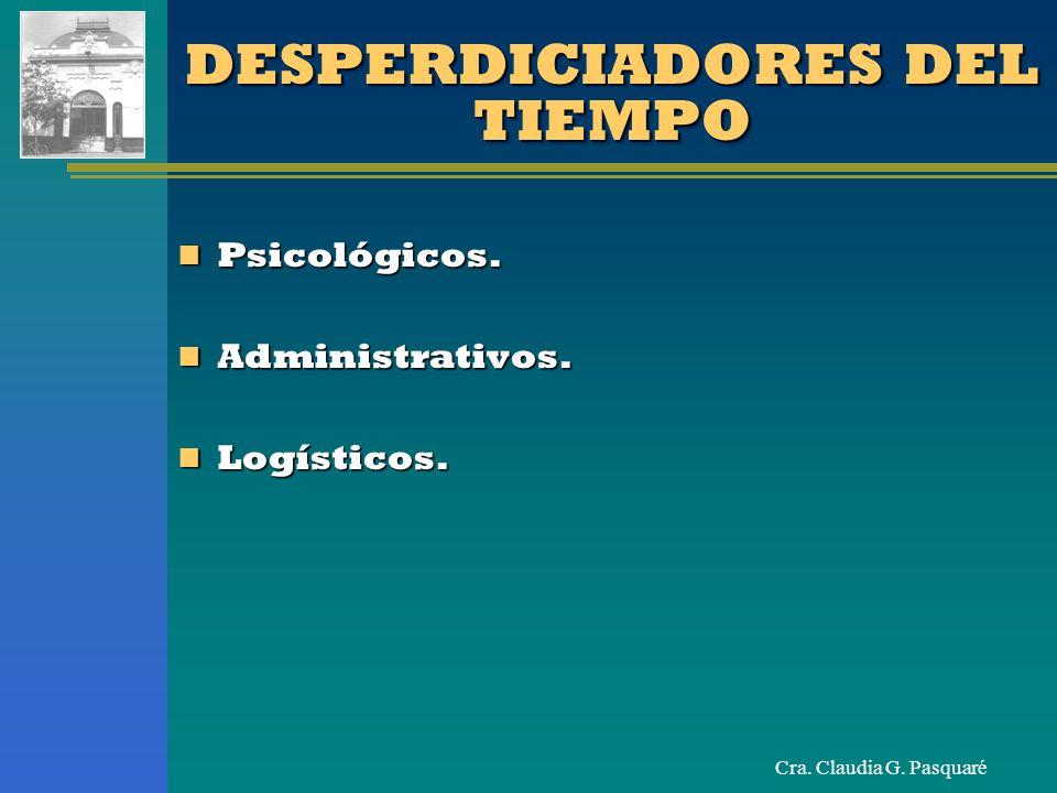 DESPERDICIADORES DEL TIEMPO