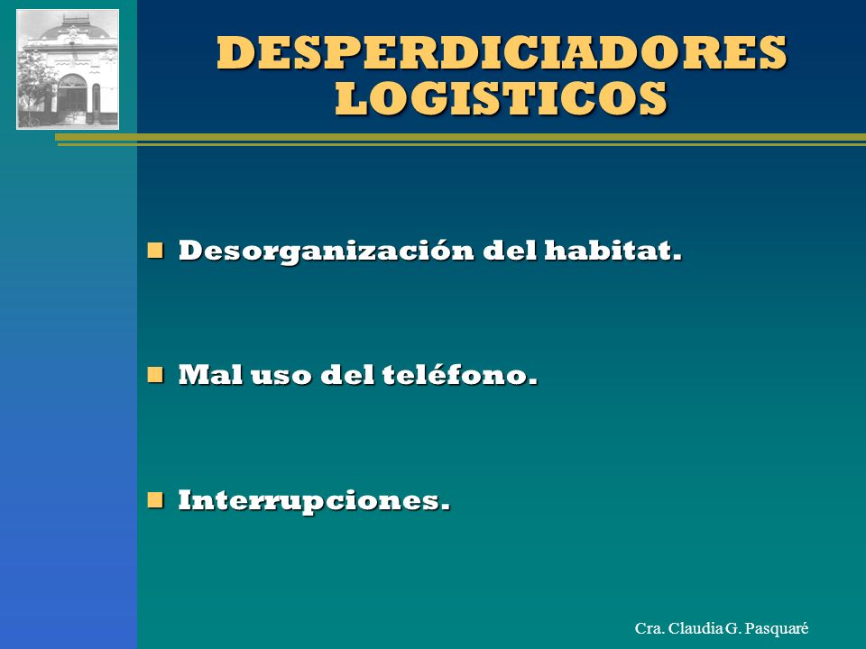 DESPERDICIADORES LOGISTICOS