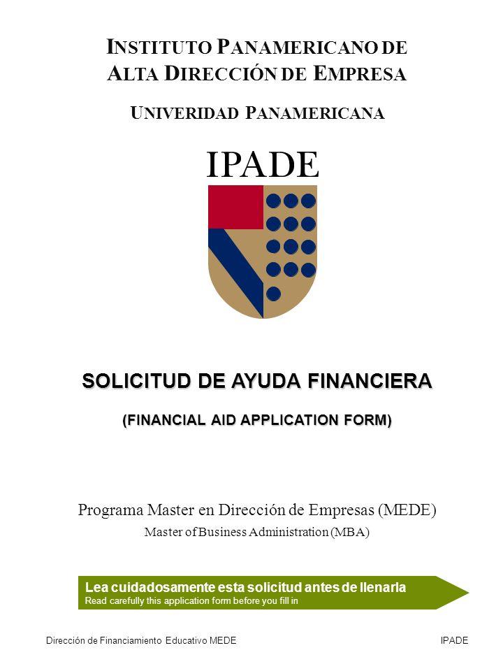 INSTITUTO PANAMERICANO DE ALTA DIRECCIÓN DE EMPRESA