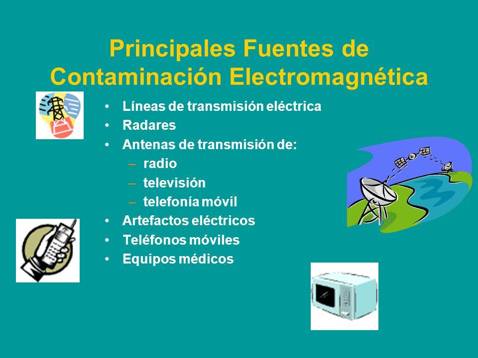 Principales Fuentes de Contaminación Electromagnética