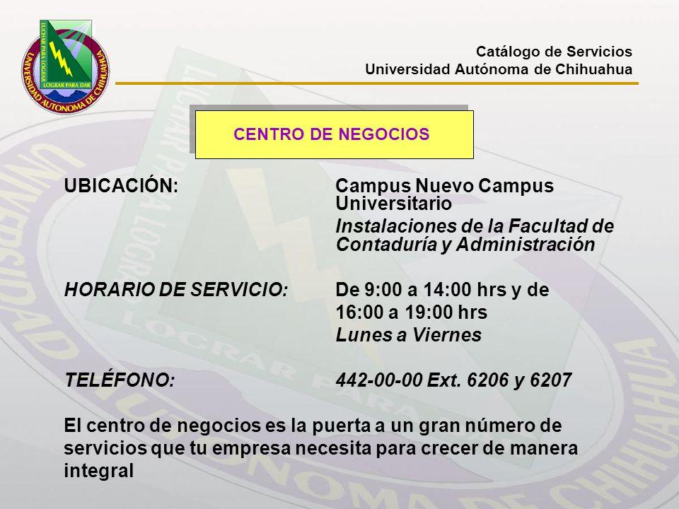 UBICACIÓN: Campus Nuevo Campus Universitario