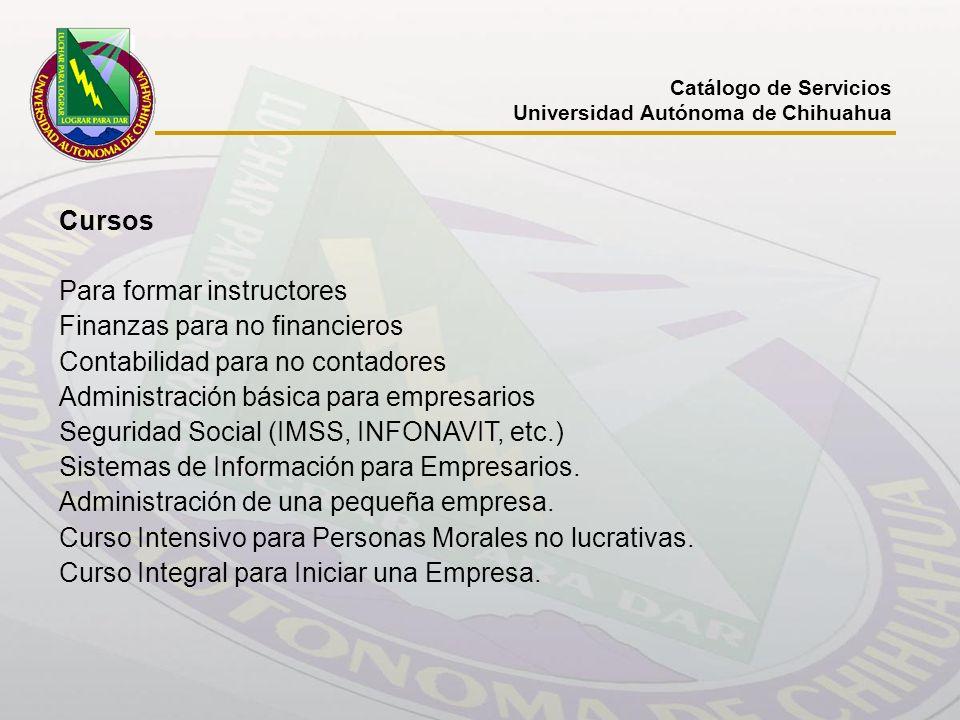 Para formar instructores Finanzas para no financieros