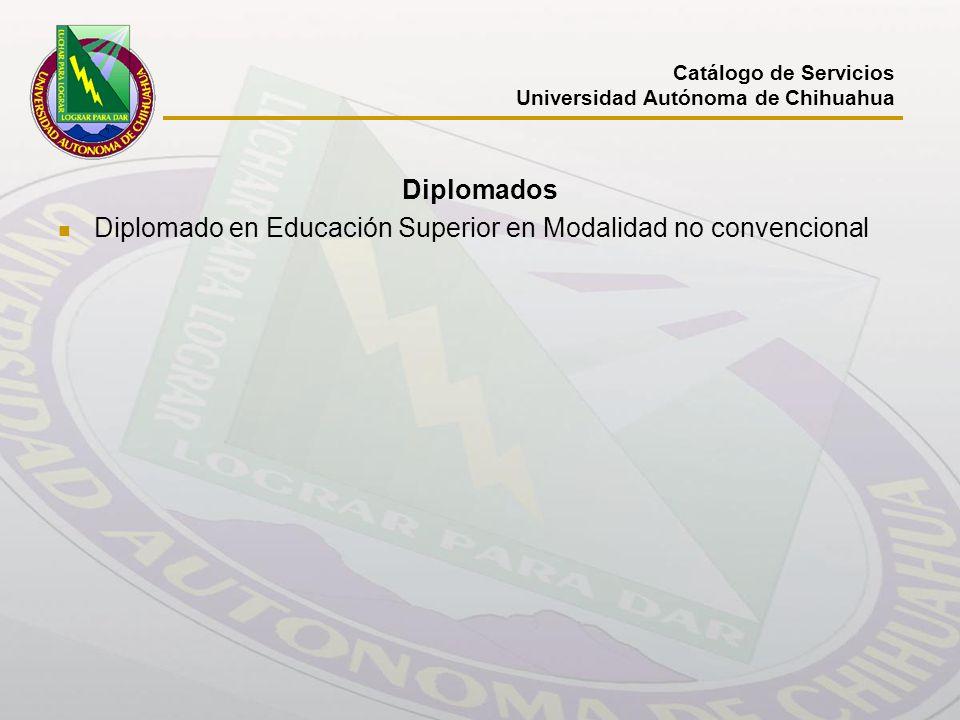 Diplomado en Educación Superior en Modalidad no convencional