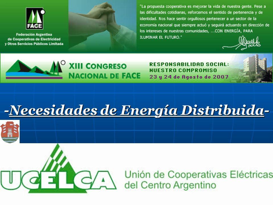 -Necesidades de Energía Distribuida-