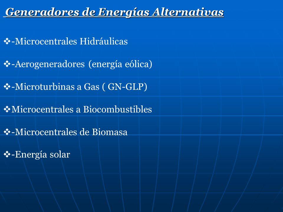 Generadores de Energías Alternativas