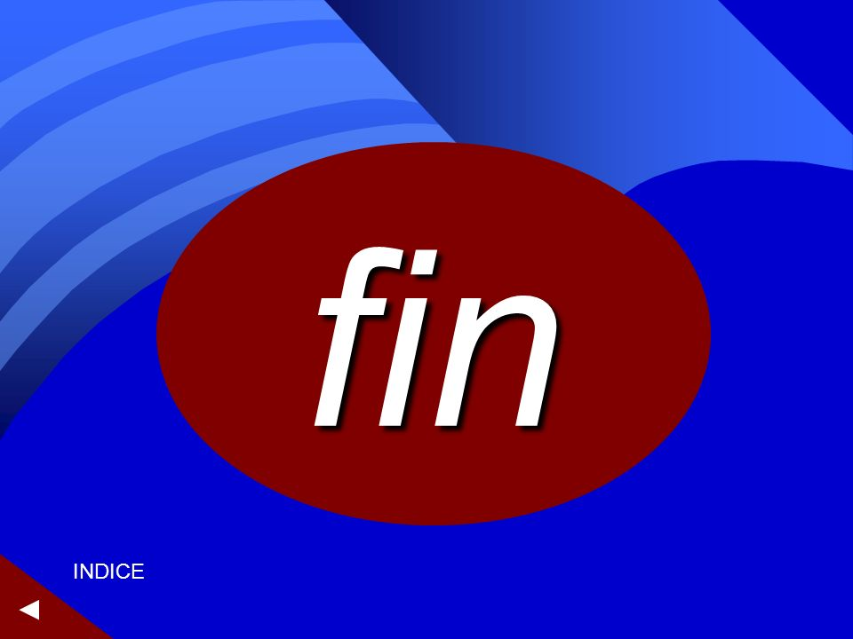 fin ► INDICE