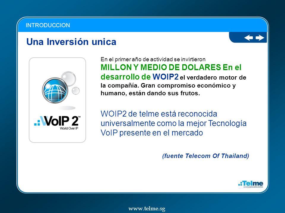 INTRODUCCION Una Inversión unica.