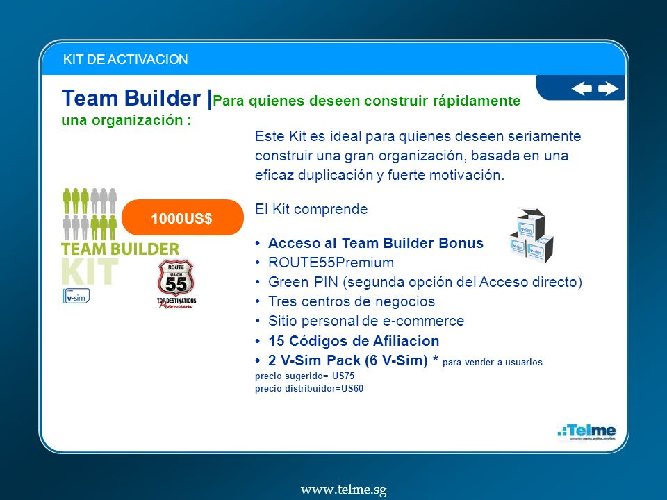 KIT DE ACTIVACION Team Builder |Para quienes deseen construir rápidamente una organización :