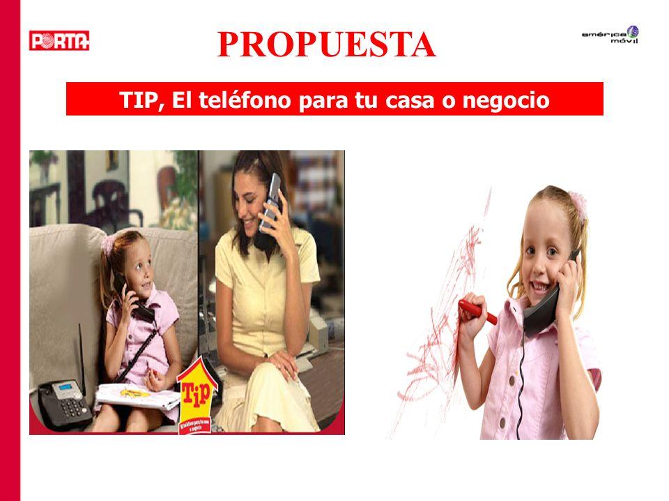 TIP, El teléfono para tu casa o negocio