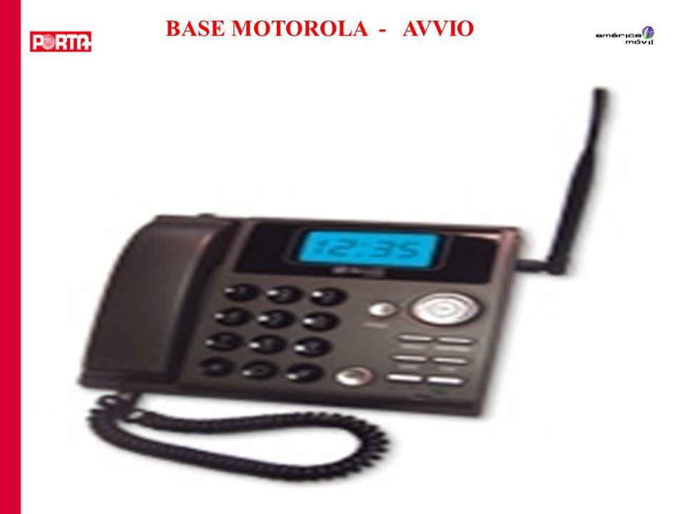 BASE MOTOROLA - AVVIO
