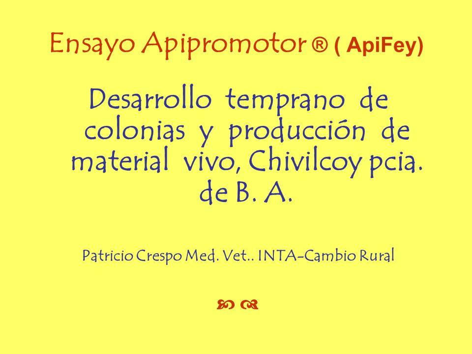 Ensayo Apipromotor ® ( ApiFey)