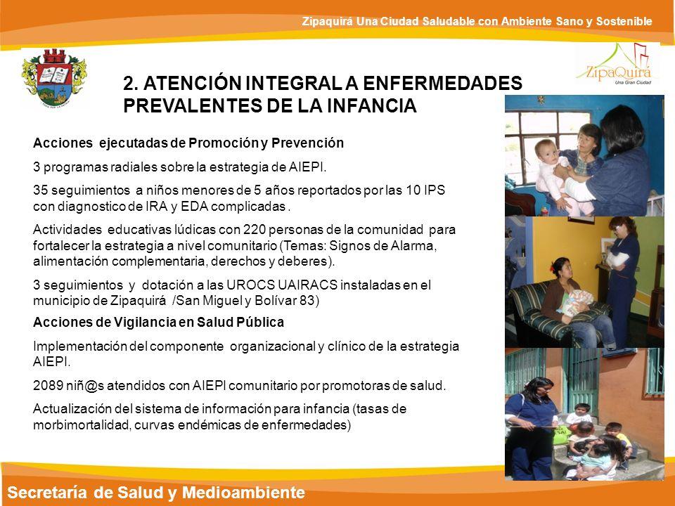 2. ATENCIÓN INTEGRAL A ENFERMEDADES PREVALENTES DE LA INFANCIA
