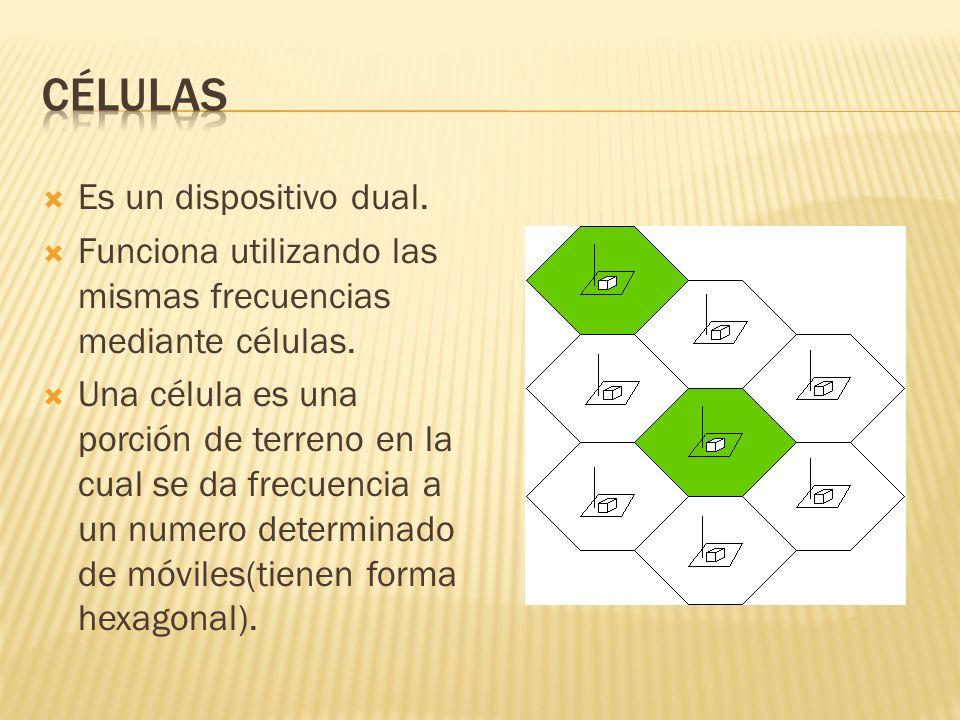 Células Es un dispositivo dual.