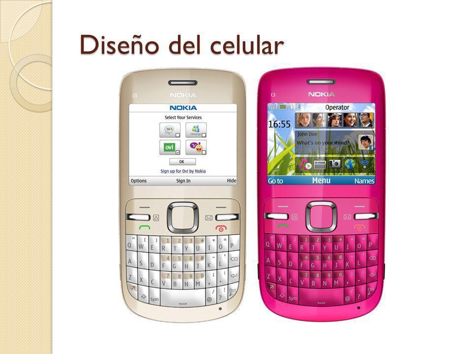 Diseño del celular