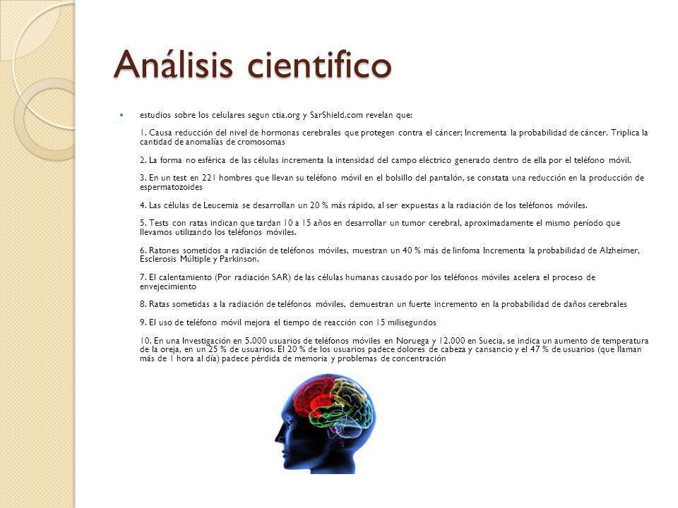 Análisis cientifico