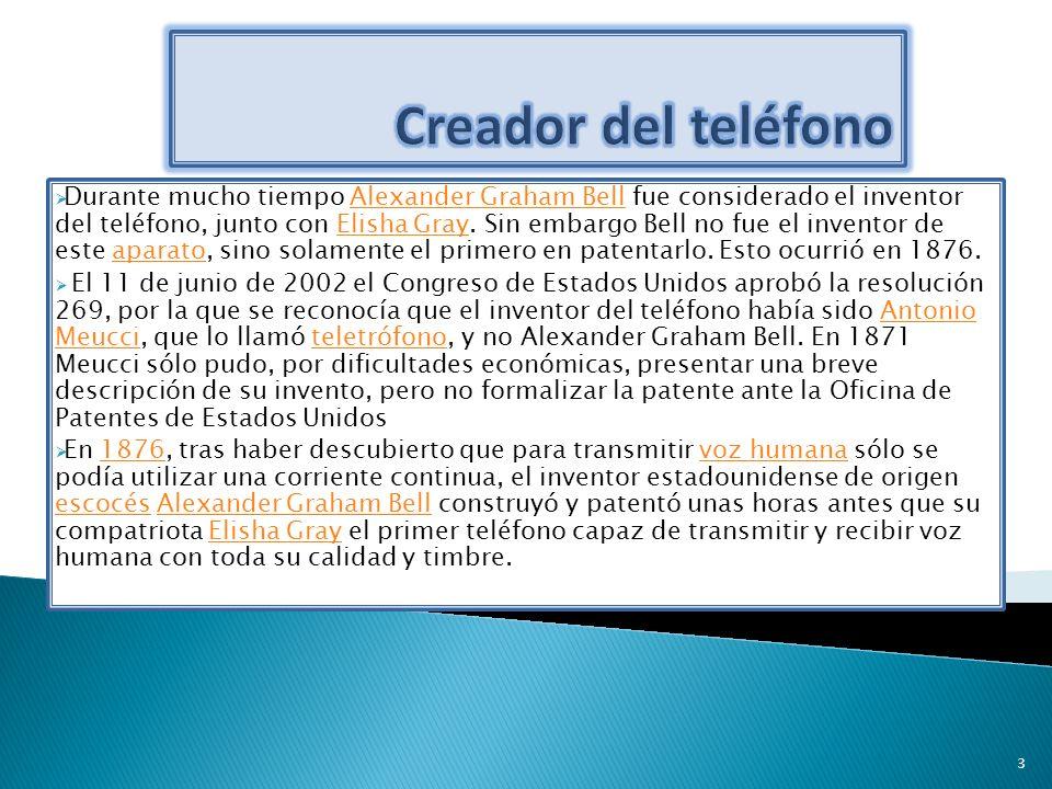 Creador del teléfono