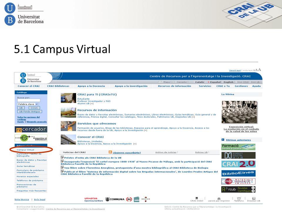 5.1 Campus Virtual
